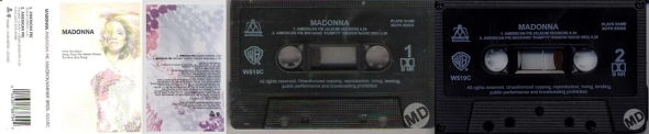 madonna american pie cassette single UK