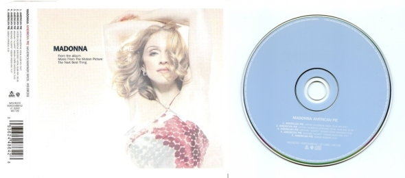 madonna american pie cd single 2 UK