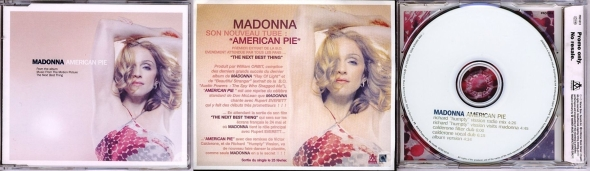 madonna american pie cd single francia