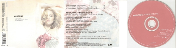 madonna american pie cd single part 1 australia