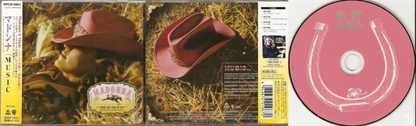 madonna music cd single japon
