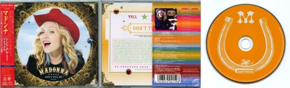 madonna don't tell me cd single japon