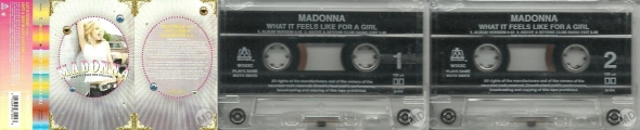 madonna what it feels like for a girl cassette single uk