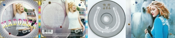 madonna what it feels like for a girl cd maxi single usa