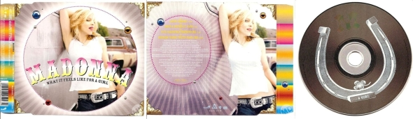 madonna what it feels like for a girl cd single africa
