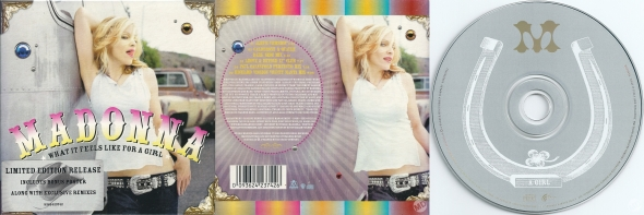 madonna what it feels like for a girl cd single australia