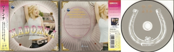 madonna what it feels like for a girl cd single japon