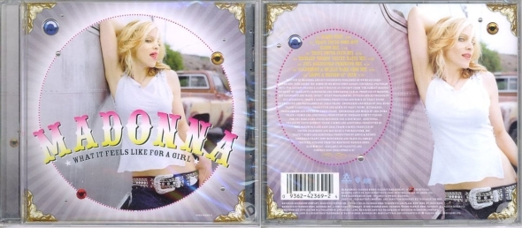 madonna what it feels like for a girl maxi single hong kong