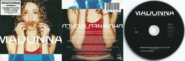 madonna drowned world substitute for love cd single alemania