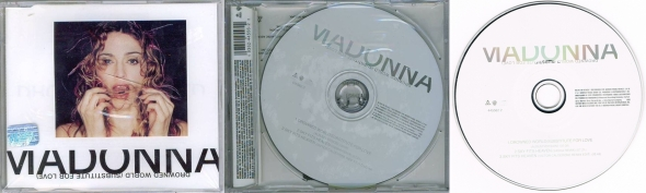 madonna drowned world substitute for love cd single mexico