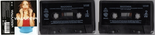 madonna drowned world subtitute for love cassette single uk