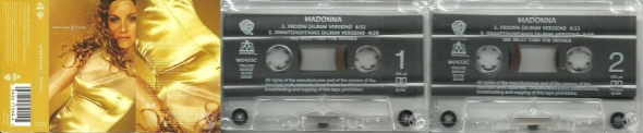 madonna frozen cassette single uk