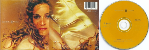 madonna frozen cd single alemania
