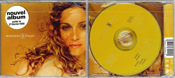 madonna frozen cd single francia