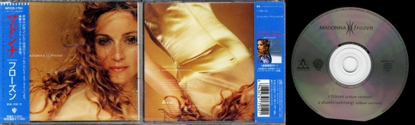 madonna frozen cd single japon