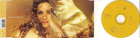 madonna frozen cd single UK
