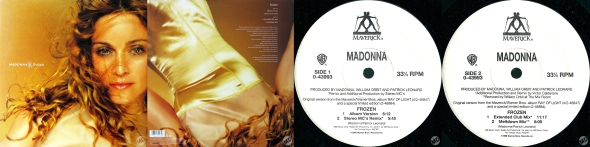 madonna frozen single 12 pulgadas usa
