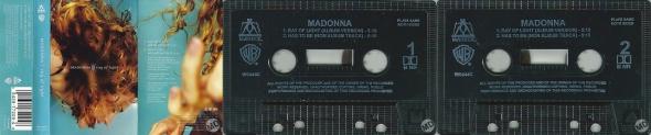 madonna ray of light cassette single UK