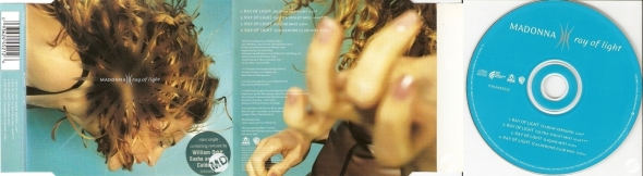 madonna ray of light cd maxi single australia