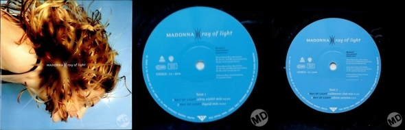 madonna ray of light single 12 pulgadas alemania