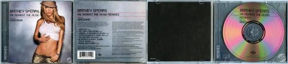 madonna me against the music cd maxi single USA