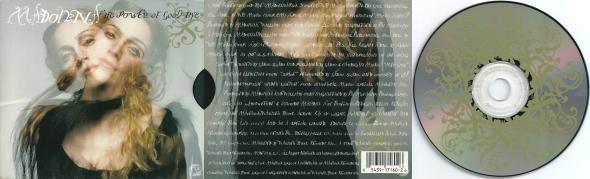 madonna the power of good bye cd single usa