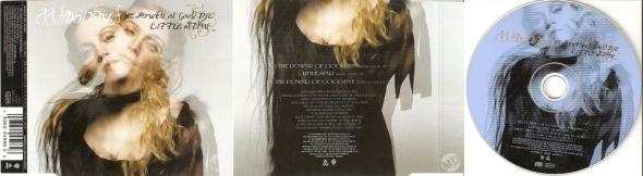 madonna the power of good bye little star cd single UK