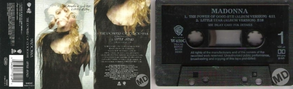 madonna the power of goodbye cassette single uk