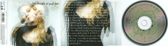 madonna the power of goodbye cd single alemania