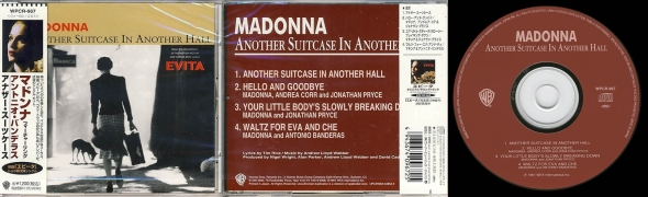 madonna another suitcase in another hall cd single japon