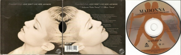 madonna love dont live here anymore cd single usa