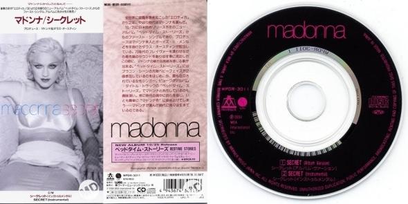 madonna secret 3 pulgadas japon