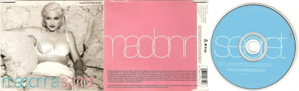 madonna secret cd maxi single