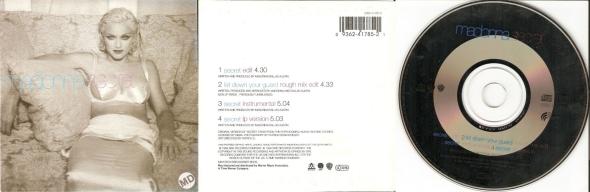 madonna secret cd single australia