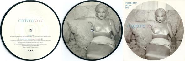 madonna secret picture disc 7 pulgadas UK