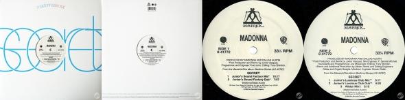 madonna secret single 12 USA pulgadas USA