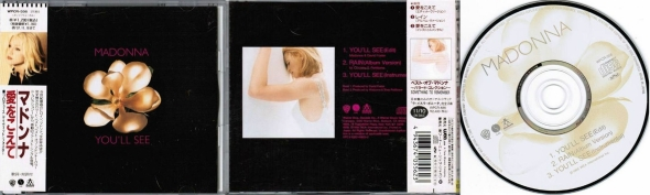 madonna youll see cd maxi single japon