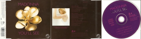 madonna youll see cd single UK