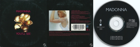 madonna youll see cd single francia alemania