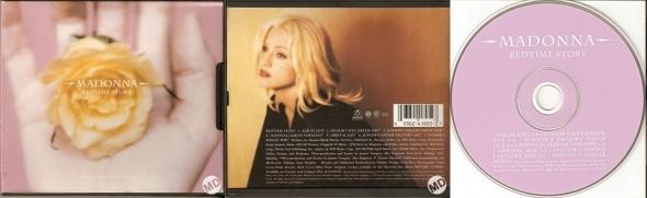 madonna bedtime story cd maxi single