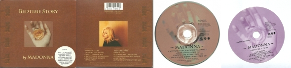 madonna bedtime story cd single book part 1