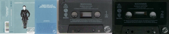 madonna human nature cassette single UK