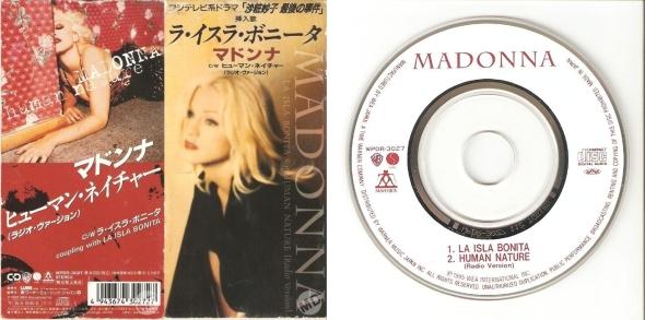 madonna human nature cd 3 pulgadas japon