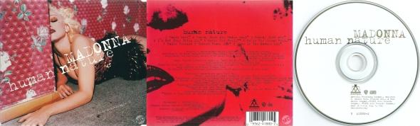 madonna human nature cd maxi single usa canada