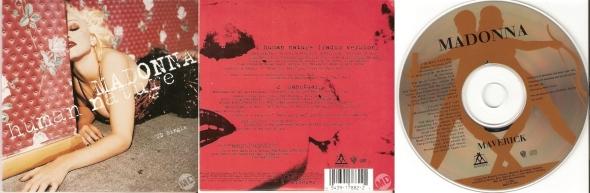 madonna human nature cd single usa