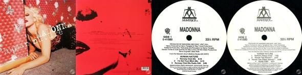 madonna human nature single 12 pulgadas USA