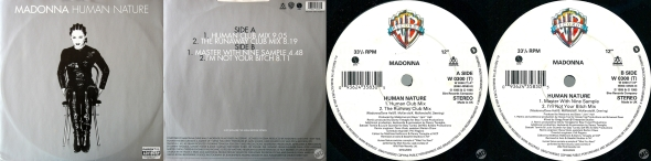 madonna single 12 pulgadas UK