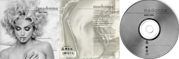madonna bad girl cd maxi single australia