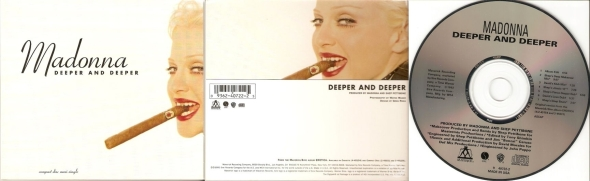 madonna deeper and deeper cd maxi single