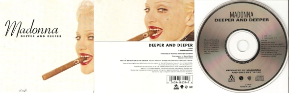 madonna deeper and deeper cd single usa